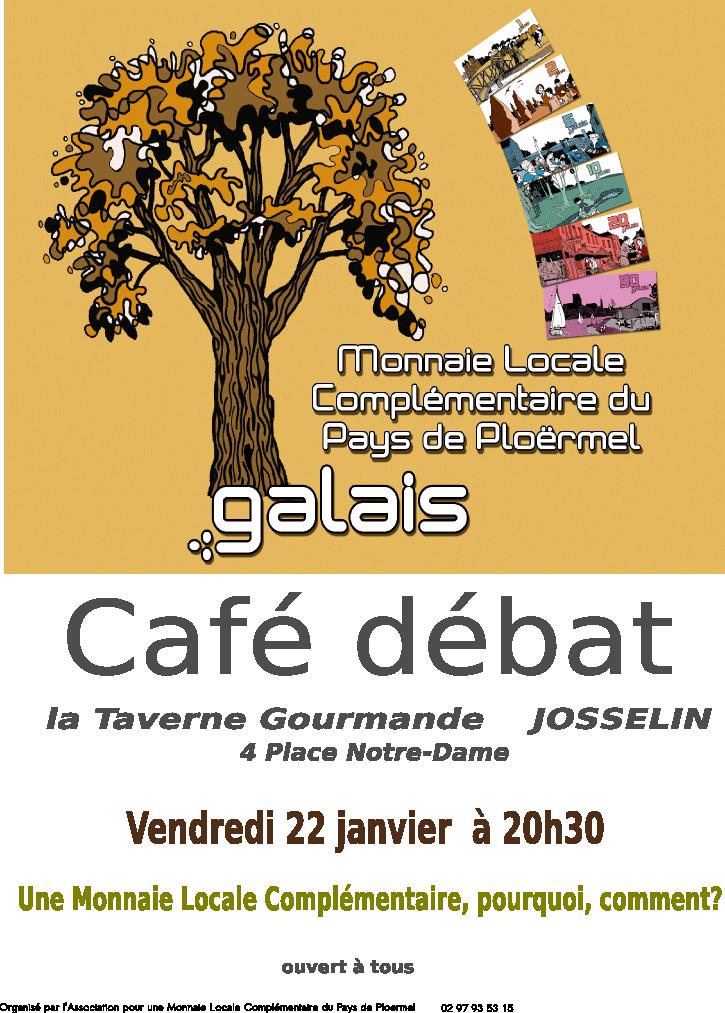Café débat du 22 janvier