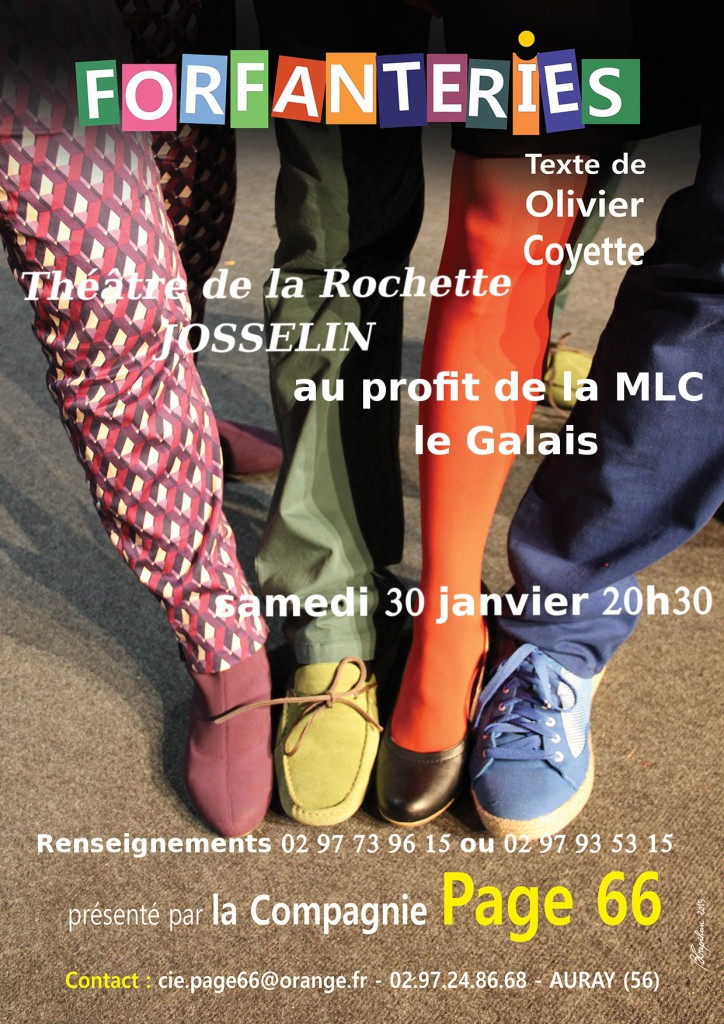 theâtre 30 janvier Josselin